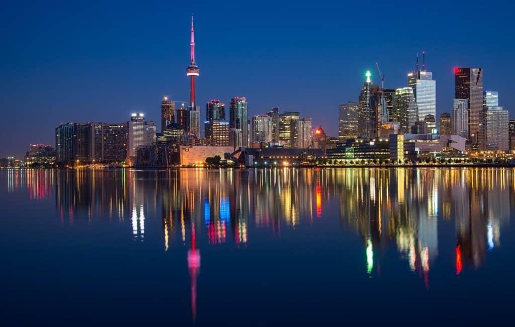 Ontario at night