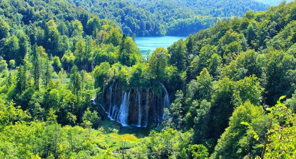 Lake in Croatia