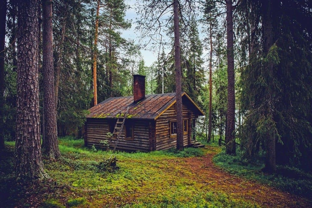Log cabin in Finland