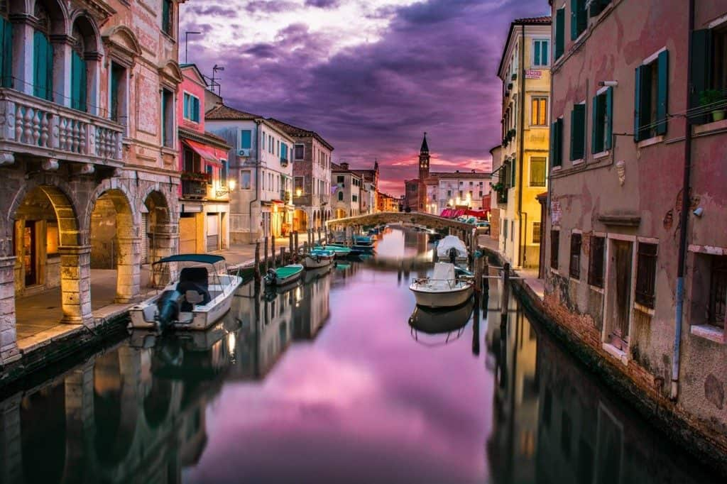 Canal in Venic