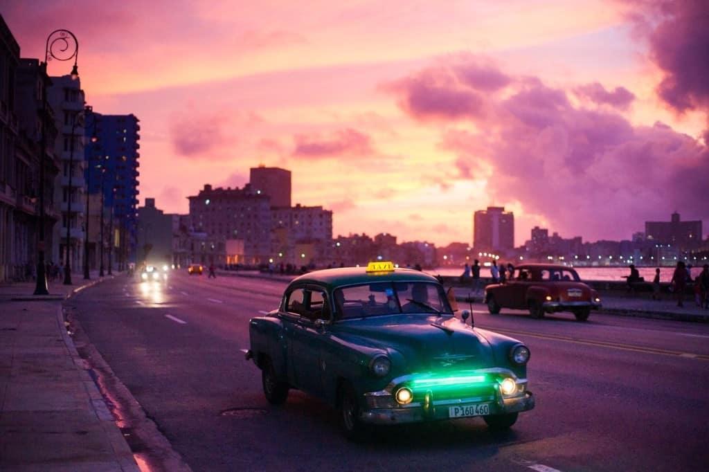 Havana during sunset