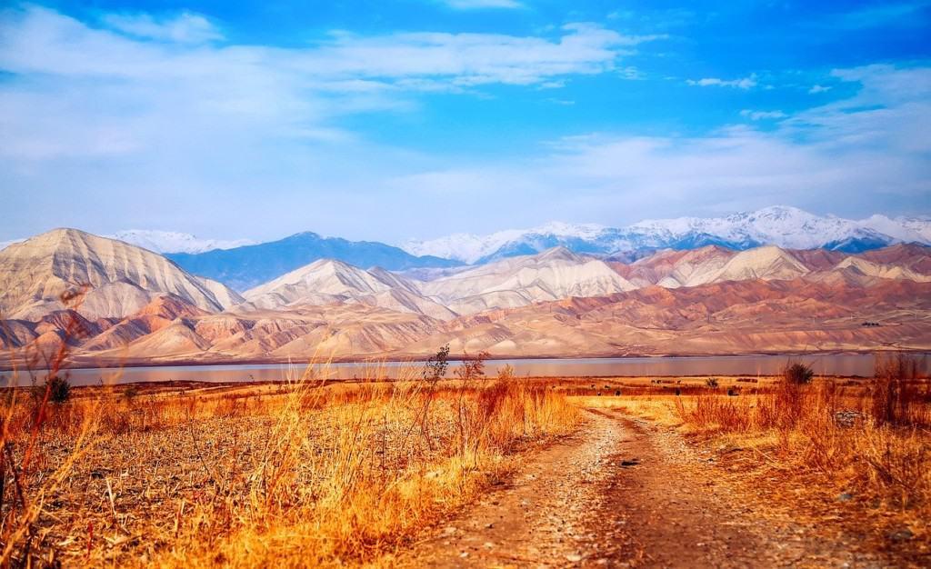 Landscape in Kyrgyzstan