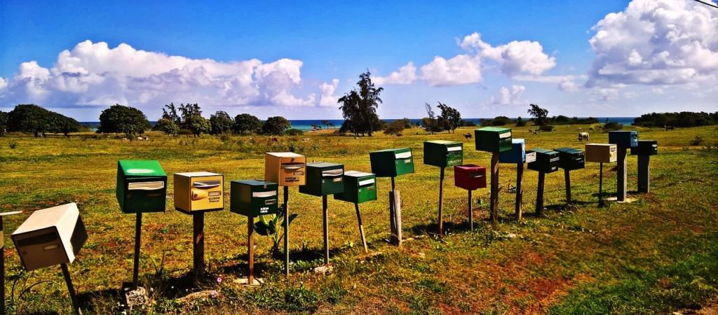Mailboxes in Guadeloupe