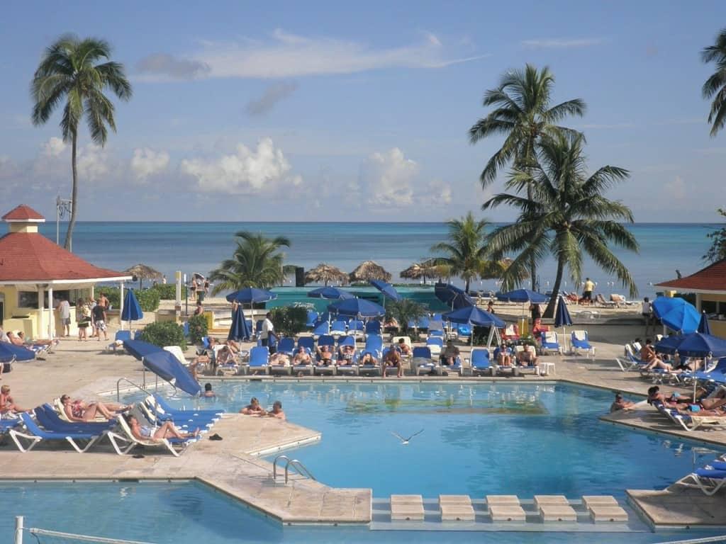 Resort in the Bahamas