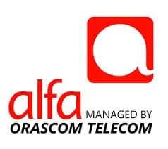 Alfa by Orascom Telecom Logo