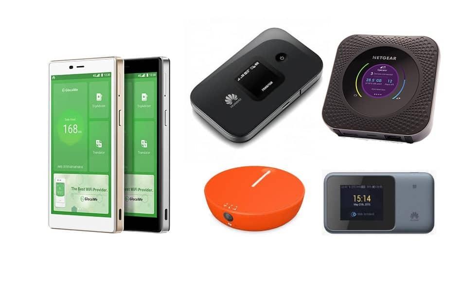GlocalMe G4 4G WiFi Router Network Mobile WiFi Hotspot Free Roaming w// Sim Slot