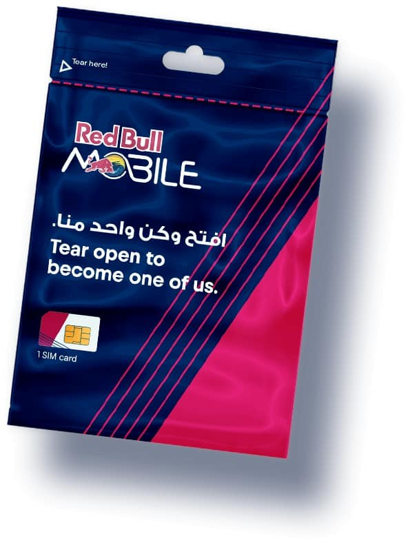RedBull Mobile Oman SIM Card