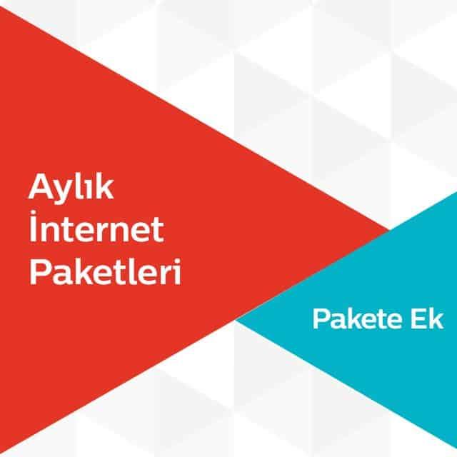 Türk Telekom Pakete Ek Aylık İnternet Paketleri