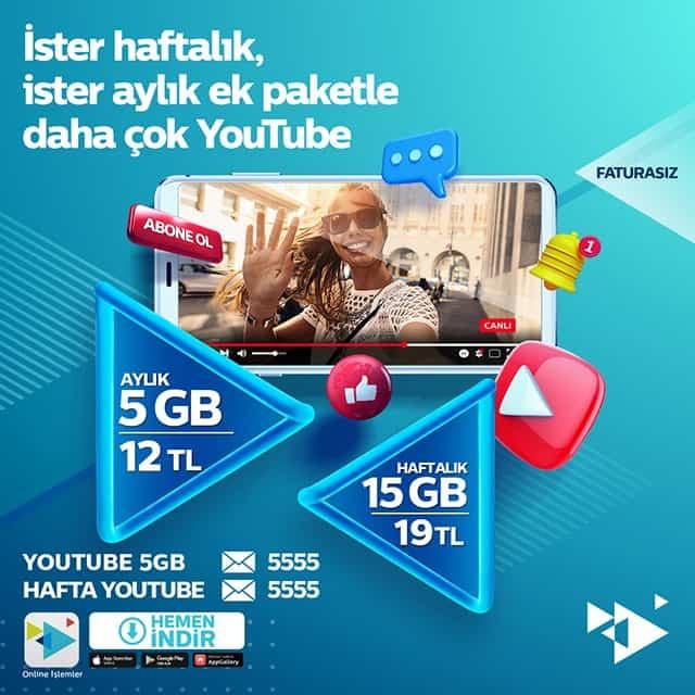 Türk Telekom YouTube Paketleri