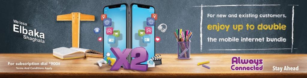 WE Telecom Egypt Lesa El Baka Sha3'ala Bundles