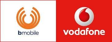 Bmobile - Vodafone Logo