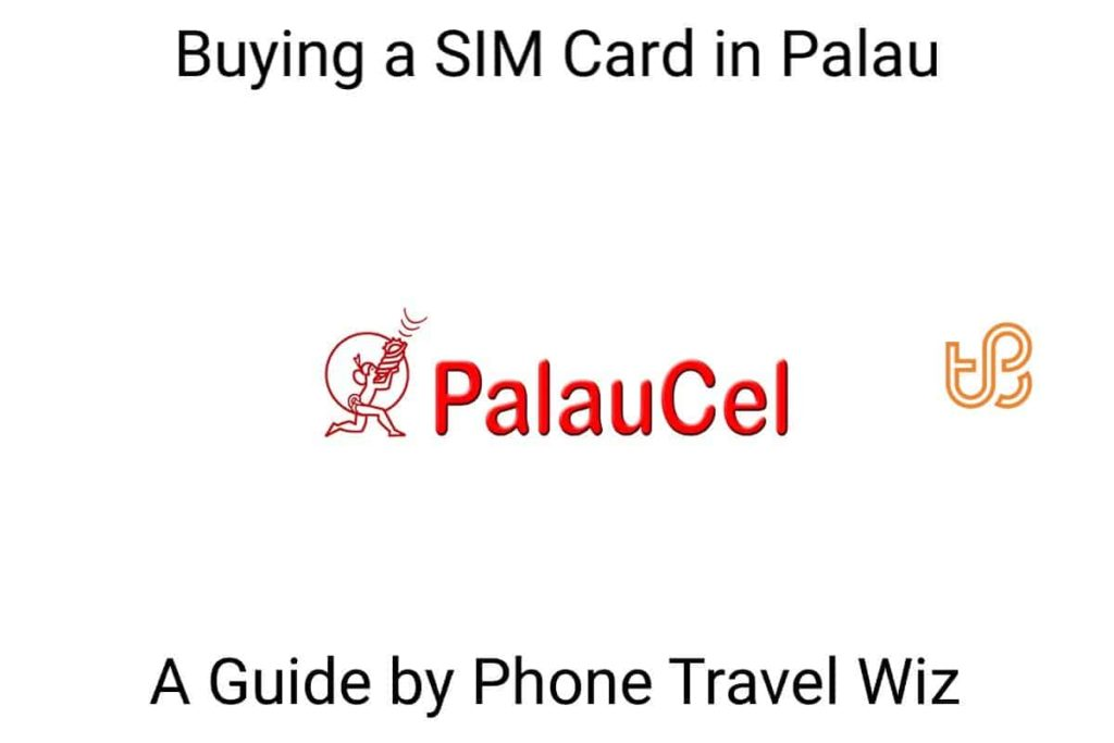 Buying a SIM Card in Palau Guide (logo of PalauCel by PNCC)