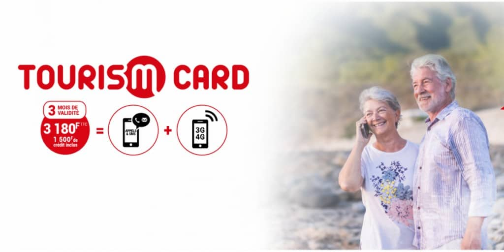 Mobilis by OPT-NC New Caledonia Tourism Card