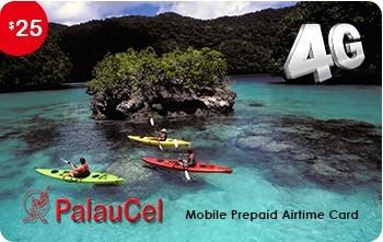 PalauCel 25 USD Recharge Card