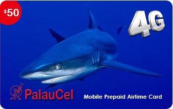 PalauCel 50 USD Recharge Card