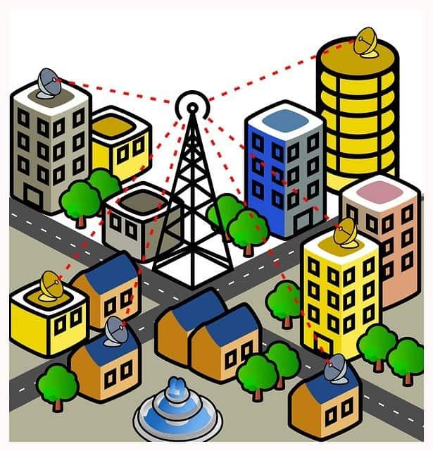 Telecommunications Cartoon City