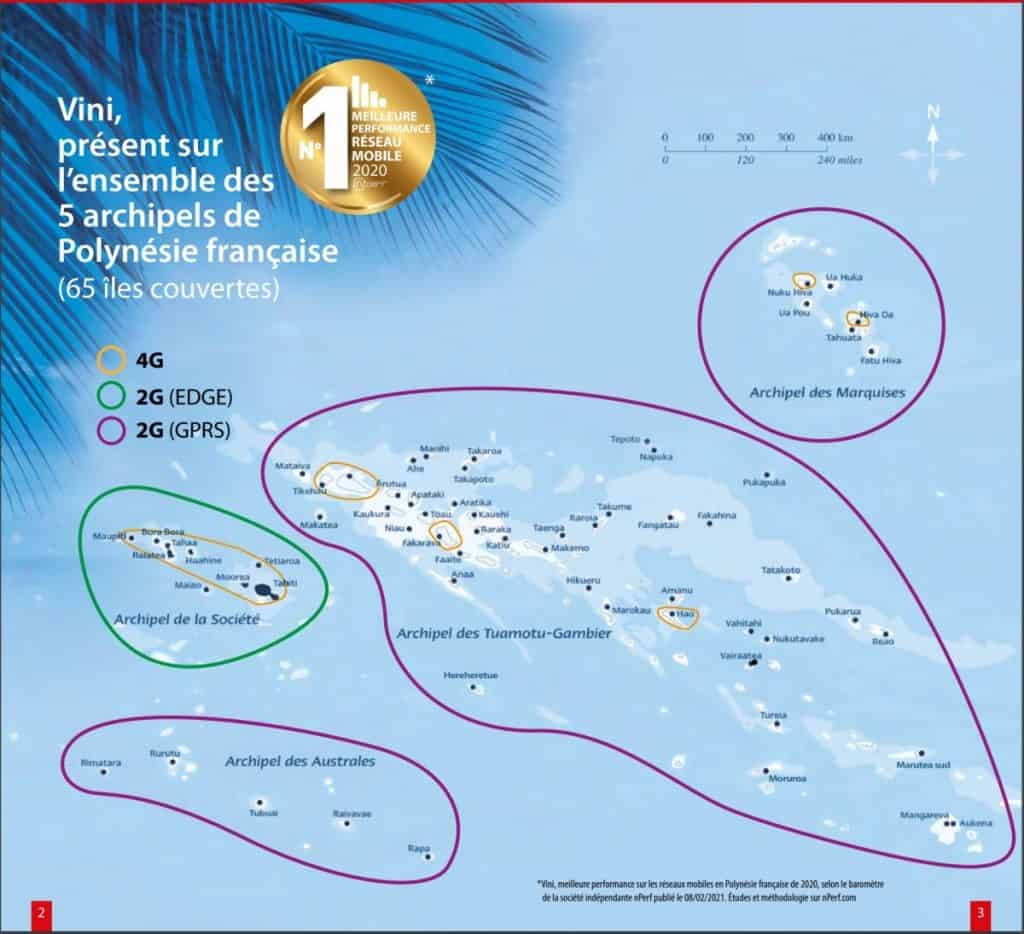 Vini Coverage Map