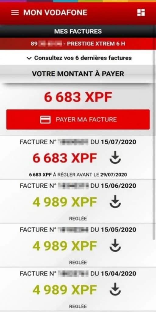 Vodafone Polynesia Mon Vodafone App