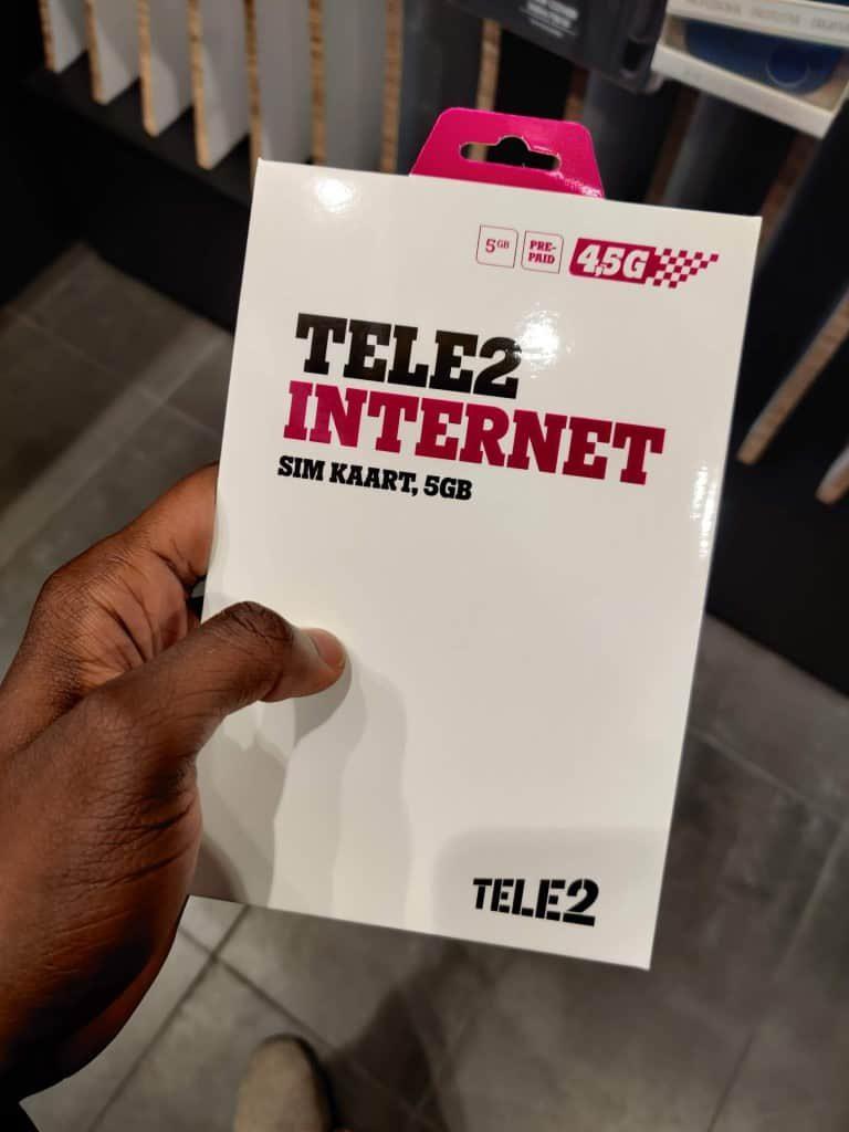 Tele2 Estonia Prepaid Internet starter pack