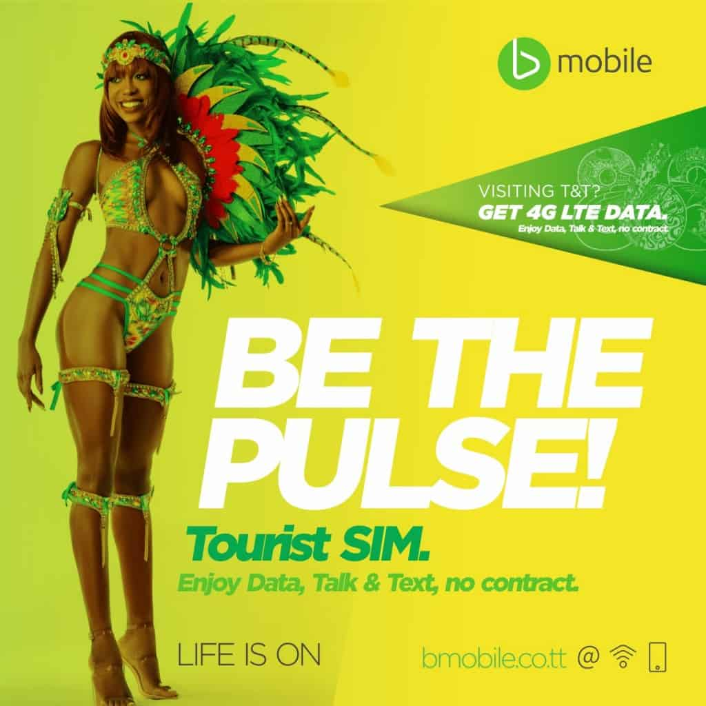 BMobile Tourist SIM Card