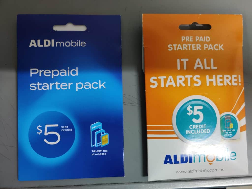 New vs Old ALDImobile starter kits