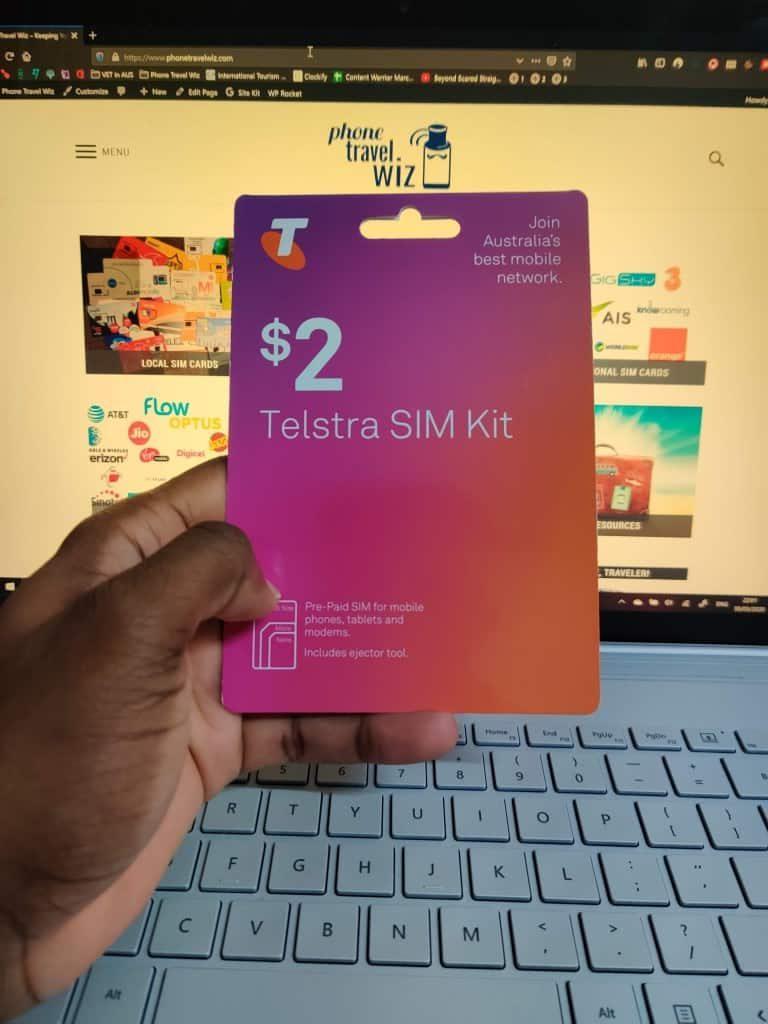 Telstra prepaid starter pack