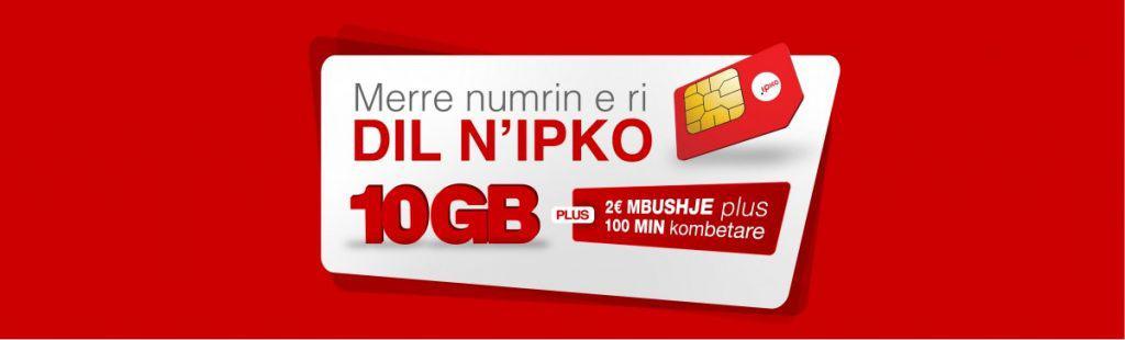 IPKO SIM Card