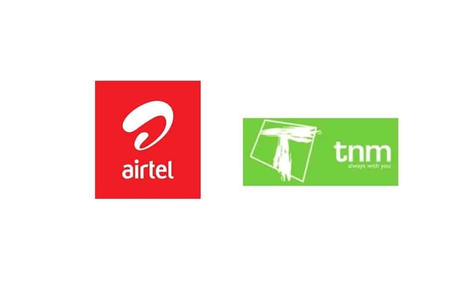 Logos of Telecom Providers in Malawi: Airtel & TNM