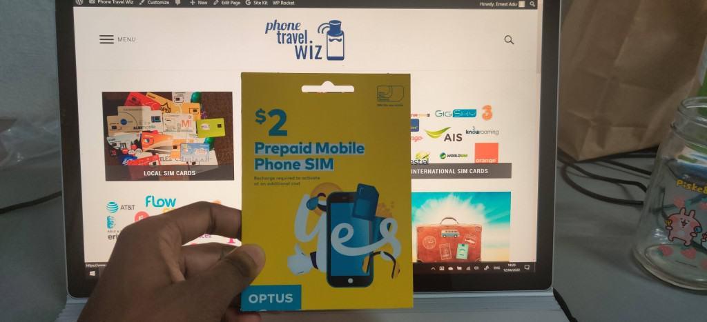 Optus SIM Card