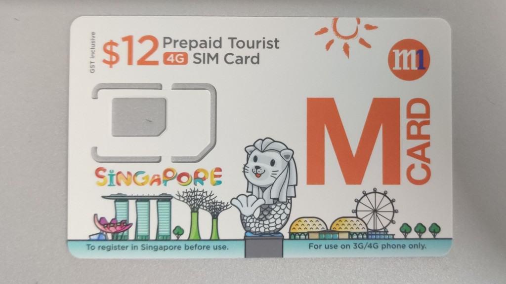 M1 Tourist SIM Card