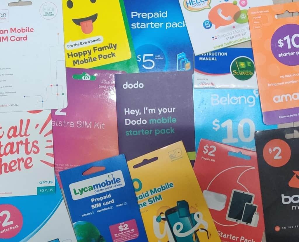 Australian SIM Cards by Adu from Phone Travel Wiz