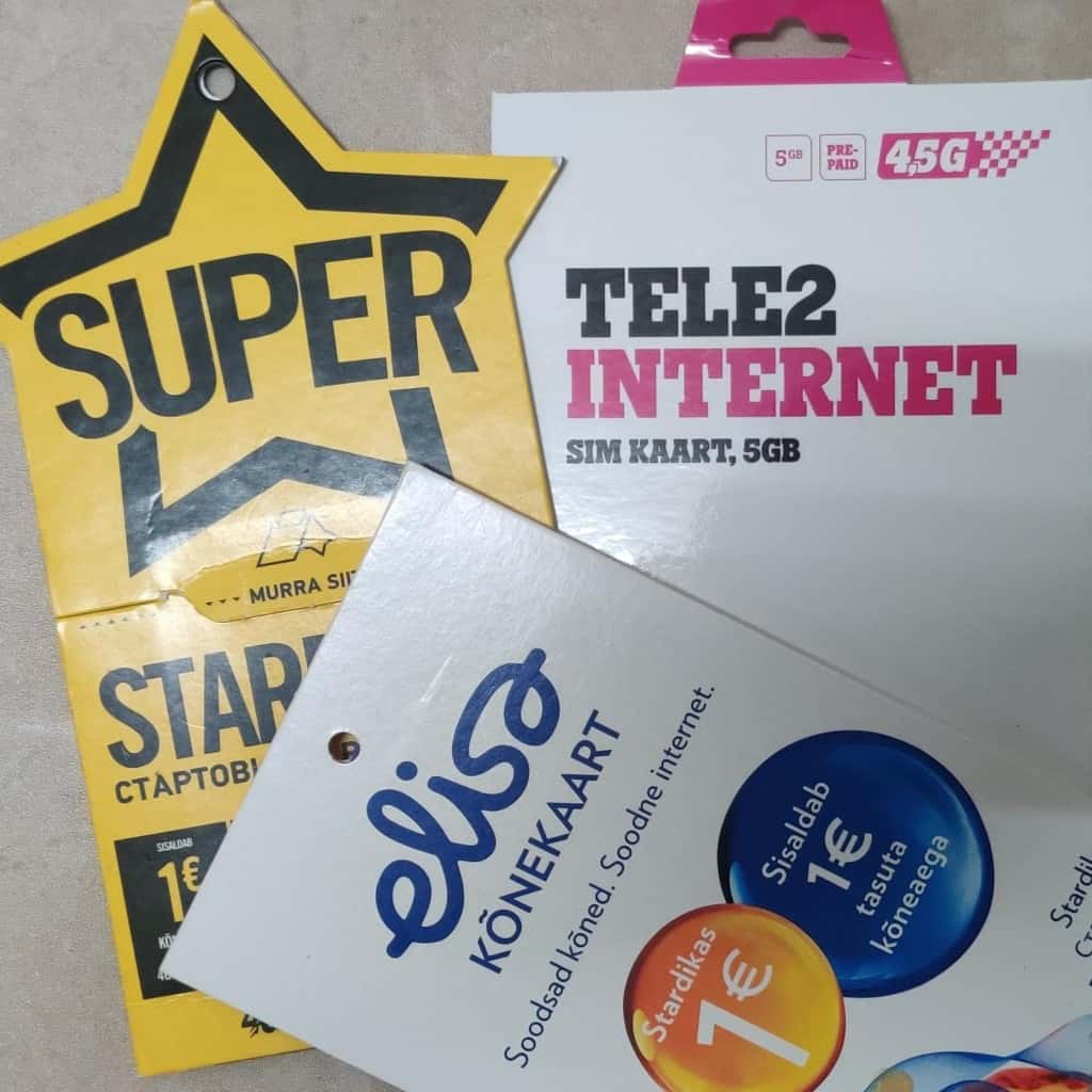 Estonian SIM Cards by Adu from Phone Travel Wiz