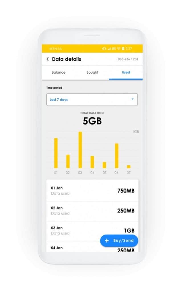 MTN South Africa App