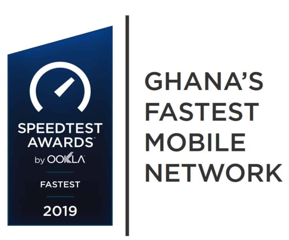 Ghana's Fastest Mobile Network Speedtest Awards 2019
