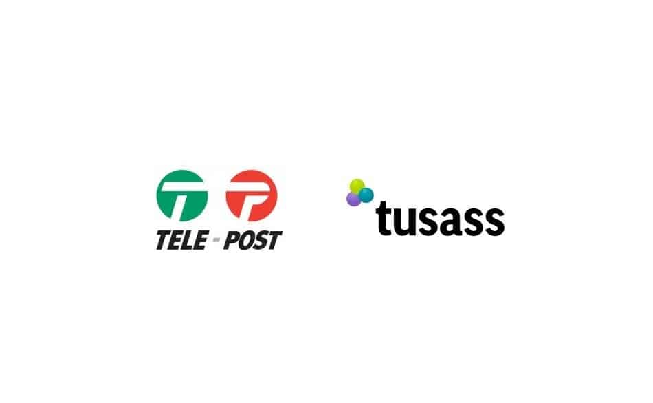 Logo of Telecom Operators in Greenland: Tusass by TELE Post