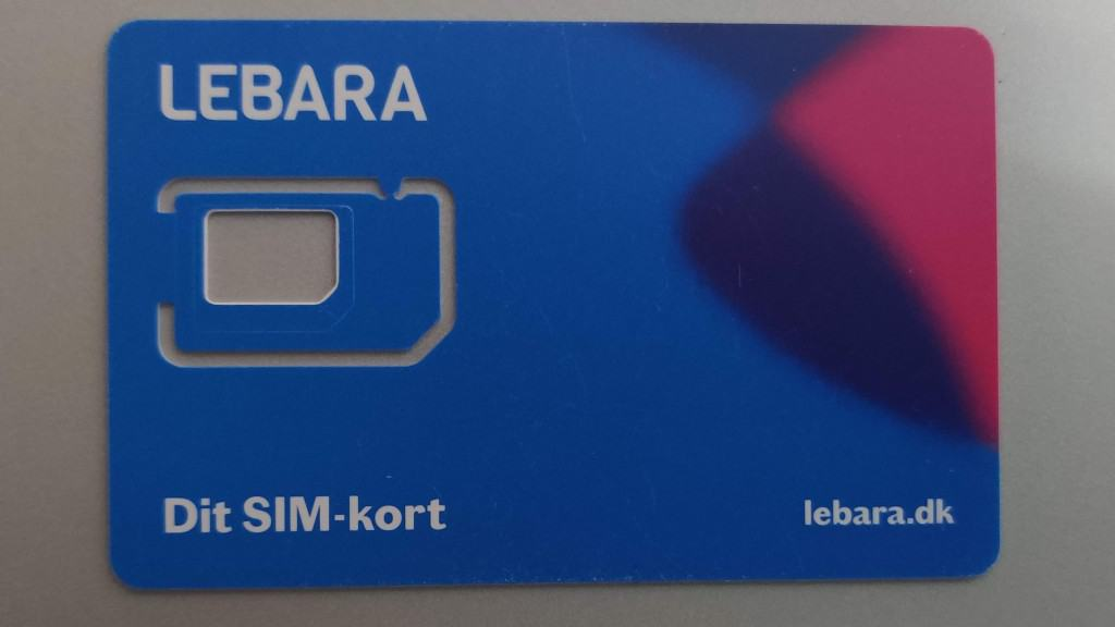 Lebara Denmark SIM Card