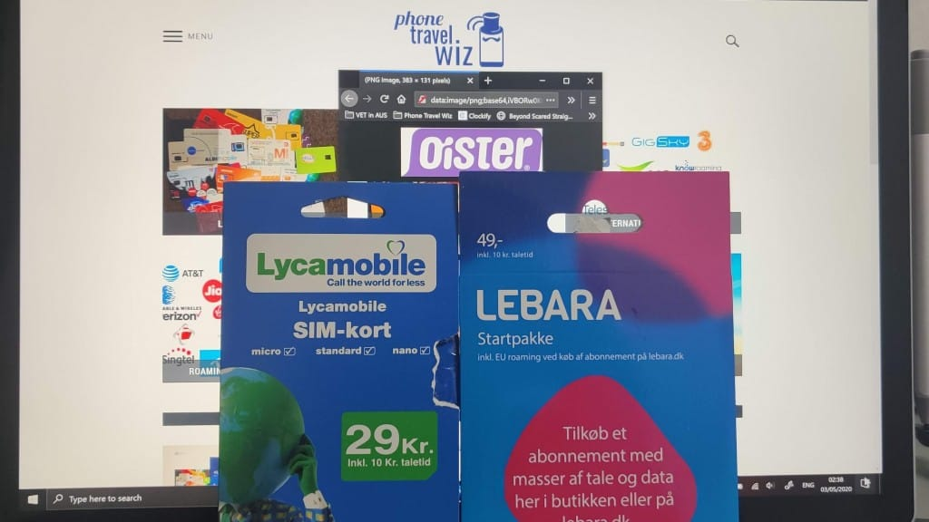 Adu from Phone Travel Wiz with a Lycamobile Denmark SIM Card and a Lebara Denmark SIM Card