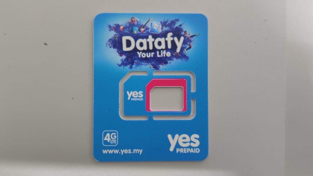 Yes SIM Card