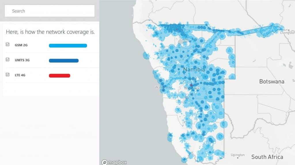 MTC Coverage Map
