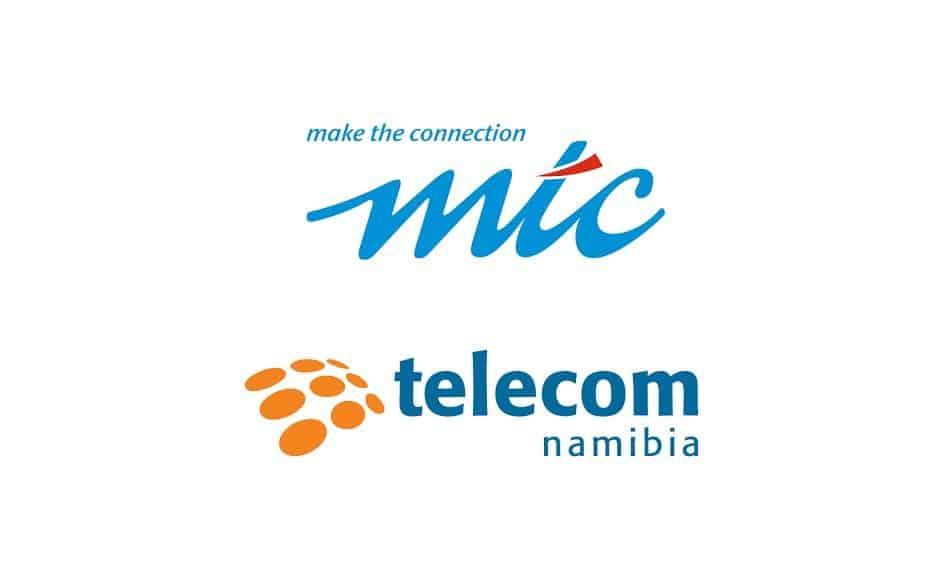Logos of Telecom Operators in Namibia: MTC & Telecom Namibia