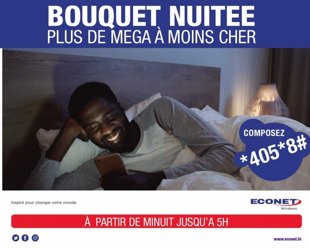Econet Burundi Night Packages (Bouquets Nuitee)