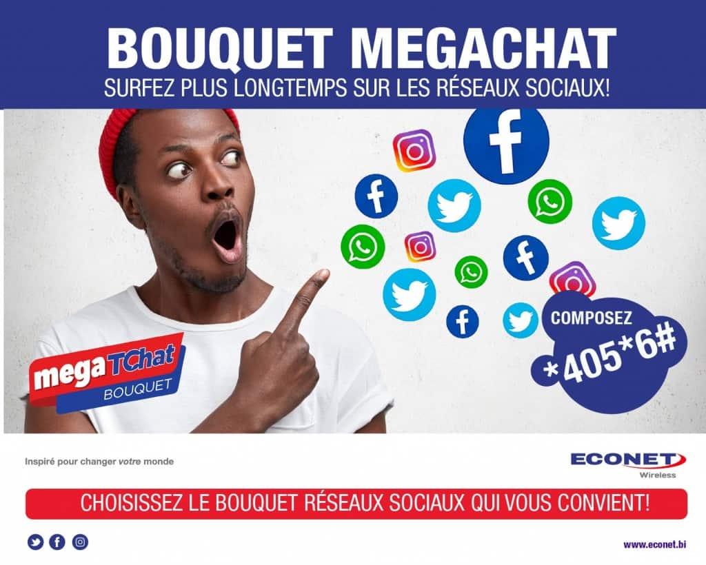Econet Burundi Social Packages (Bouquets Megachat)