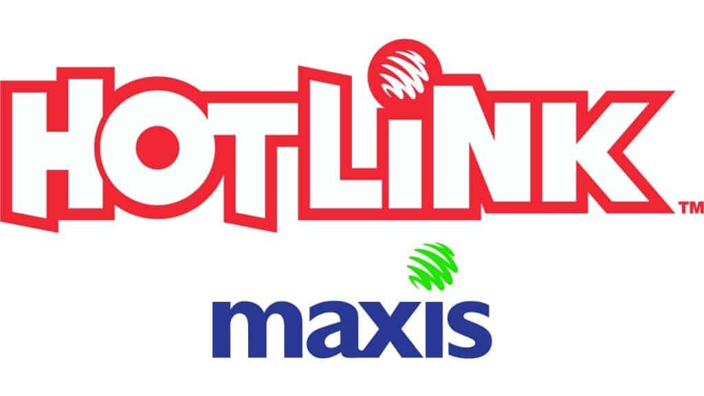 Hotlink & Maxis Logos
