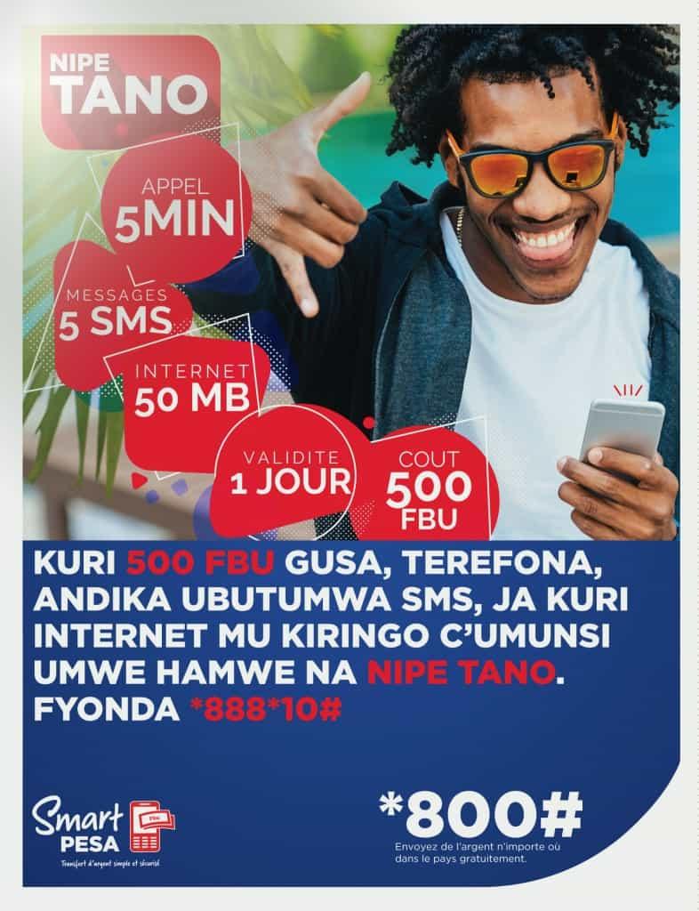 Smart Burundi Nipe Tano Package