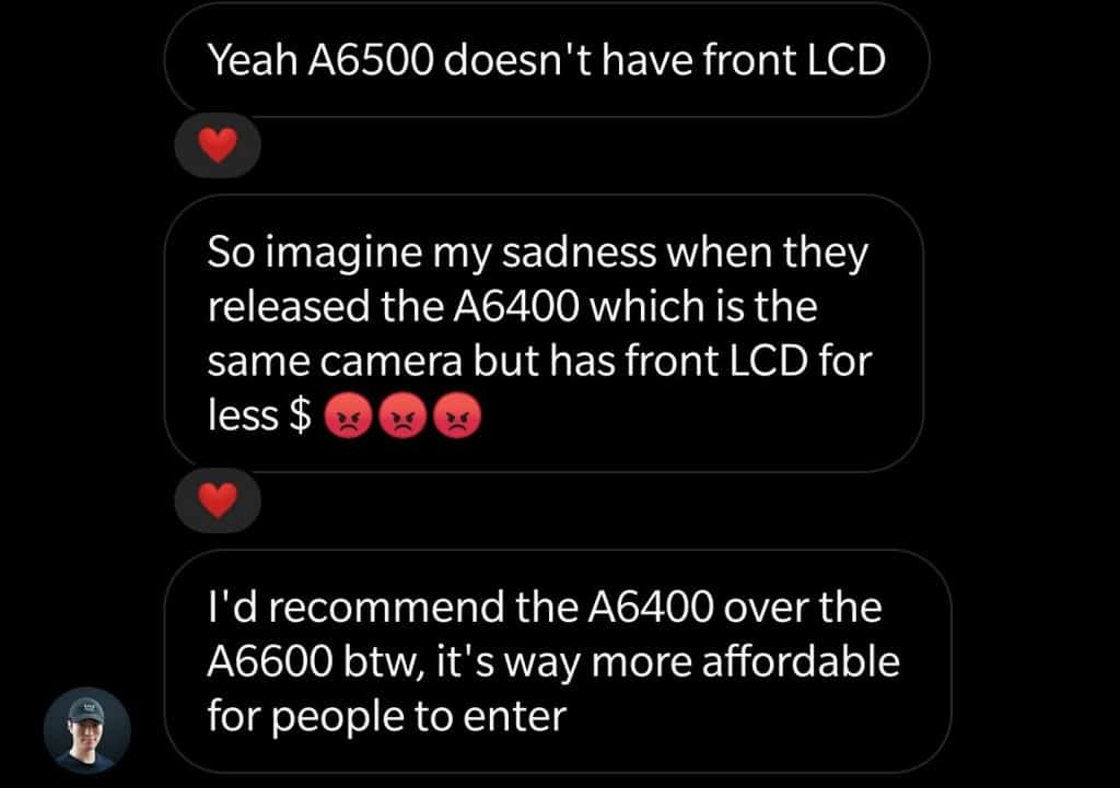 Danny's Camera Recommendation