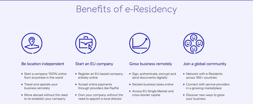 E-Residency Benefits