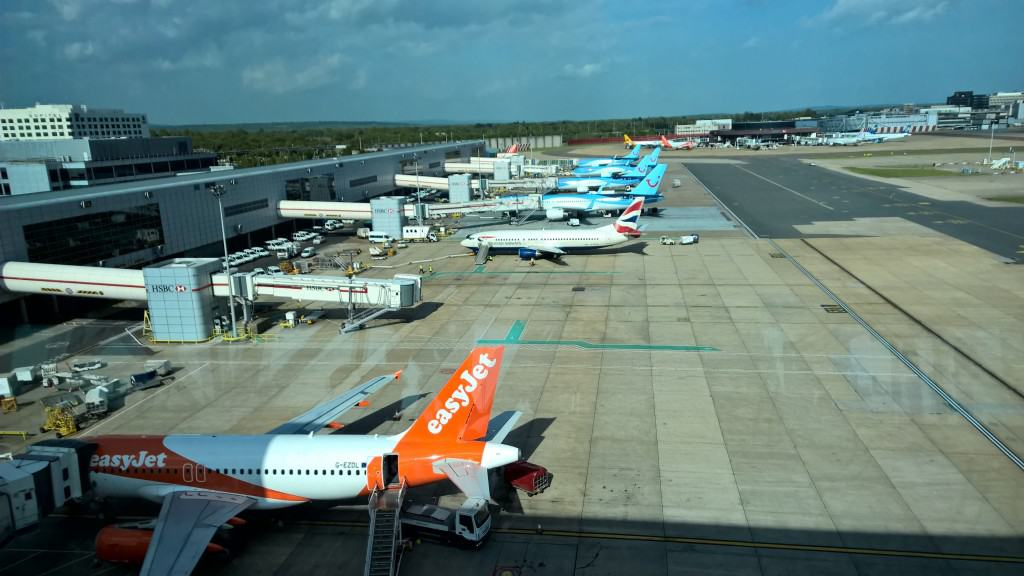 An Easyjet Plane at Amsterdam Schiphol Airport