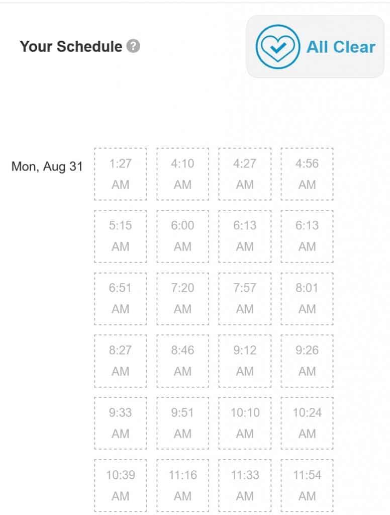 Tailwind Scheduler