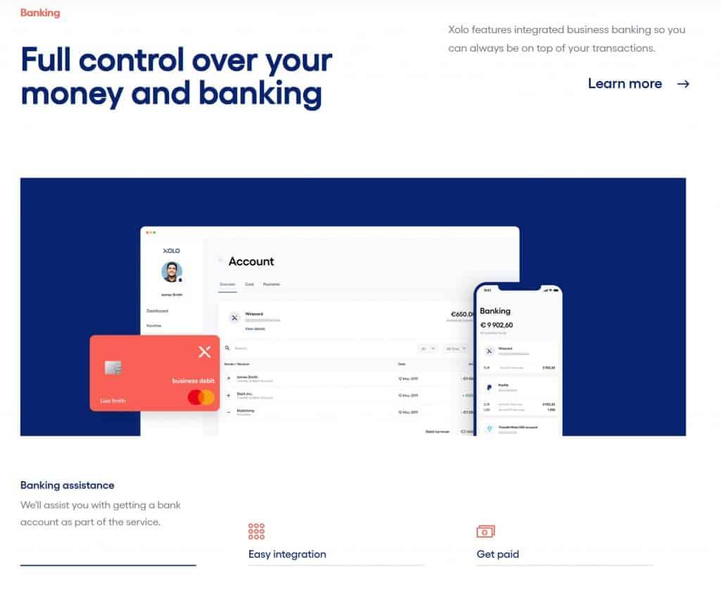 Xolo Banking