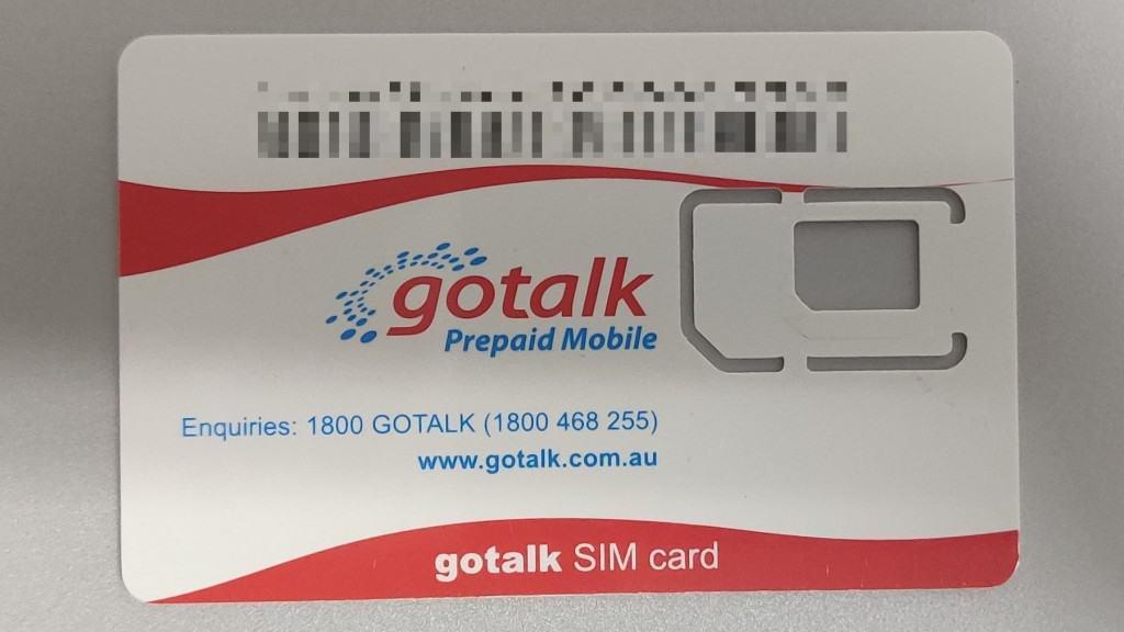 Gotalk SIM Card